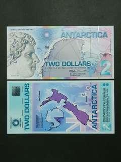 Antarctica 2 Dollars 🇦🇶 !!!