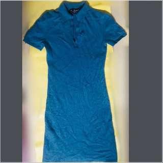 Cashmere Polo Shirt Dress
