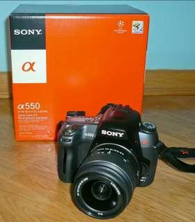 Sony DSLR a550
