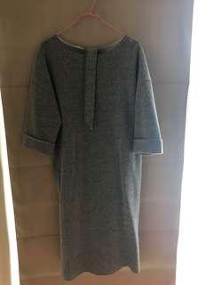 🚚 Giordano & ladies羊毛洋裝