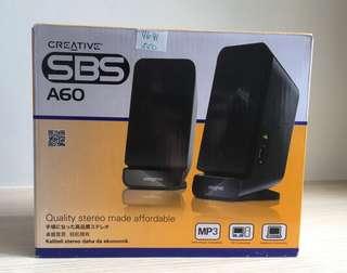 Creative SBS A60 Speakers