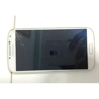 Samsung Galaxy S4,  Used ,screen cracked still working well