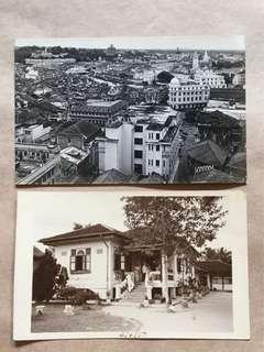 黑白旧相片 2Pcs
