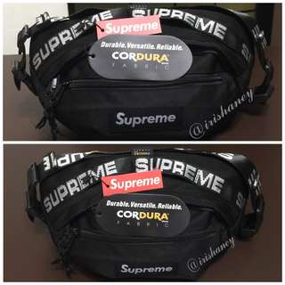 SUPREME 18SS 44th Shoulder/Chest/Waist/Pouch Bags (UA