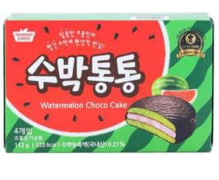 韓國西瓜巧克力派8入