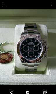 """New Old Stock Rolex 116520 """"G"""" Series"""