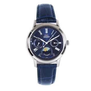 Brand New Orient RA-KA0004L RA-KA0004L00C Sun & Moon Quartz Analog 100% Genuine Leather Strap Female Casual Watch w/ Warranty