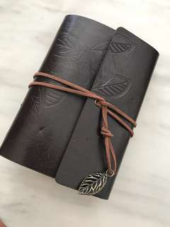 Genuine Leather notebook from Japan