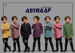 Kurta Asyraaf (Kid)