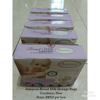 Autumnz Milk Storage Bag
