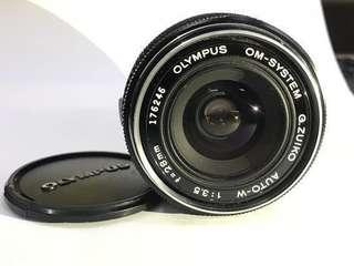 (可少議,想套現)Olympus om system G.zuiko auto-w 28mm f3.5