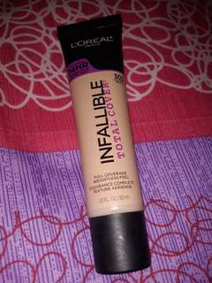 Loreal infallible total cover 24h 90% full