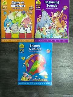 Nursery learning books