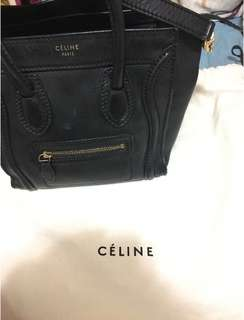Celine Nano Bag 80% new