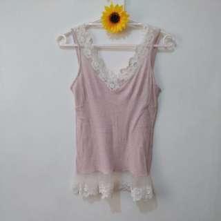 Medium Camisole Top Soft pink