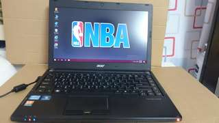 Acer i5,Windows 10,500Gb HDD.game online can play. 14 inch screen laptop