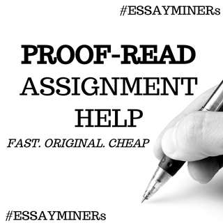 Proof reader assignment service