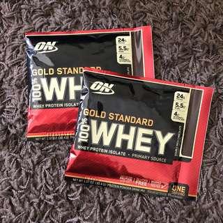 Optimum Nutrition Gold Standard Whey 1.07 oz