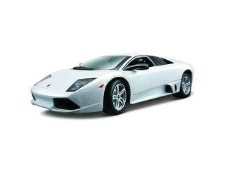 1:18 2007 Lamborghini Murcielago LP 640 (Met White) Maisto Special Edition Diecast Car
