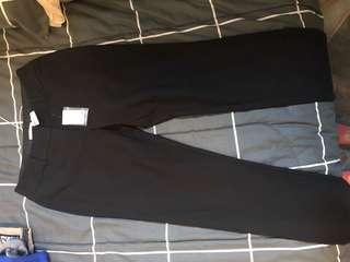 New target slim black pants