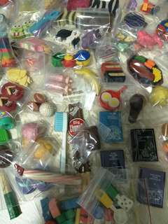 Eraser collection set