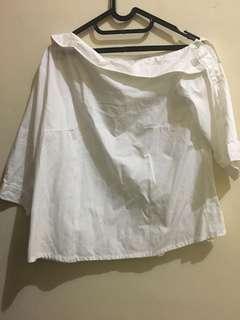 Cotton ink off shoulder top