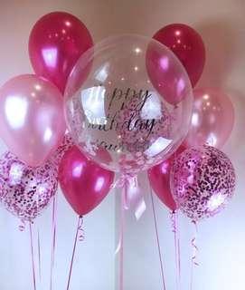Bubble Balloons Promo!