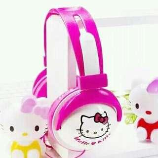 Hello kitty headphone