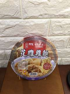 Taiwan Instant Noodle, TTL Huatiao chicken (bowl)  花雕雞麵