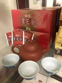 雙鶴如春靈芝茶