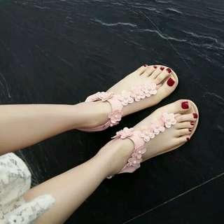 Sandal teplek pink