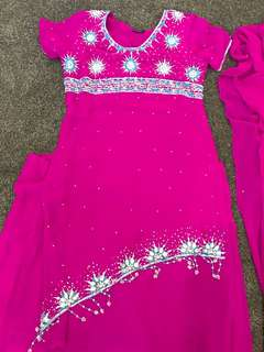 Indian outfit size 10-12