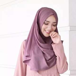 Medium pashima instan sala / pashtan jilbab instan / hijab promo