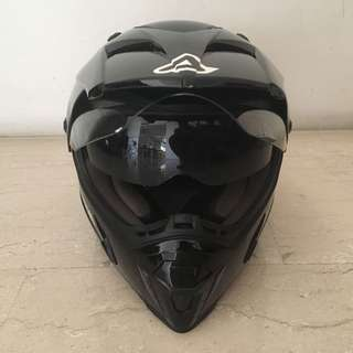 For sale: Acerbis Active Dual Sport Helmet (Black, Size M)