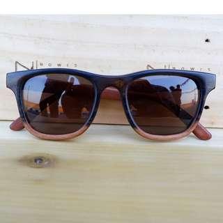 Kacamata Kayu Ebony