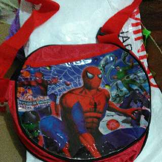 Tas Anak Spiderman Sling Bag Murah