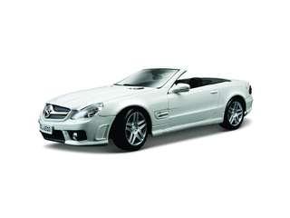 1:18 Mercedes-Benz SL 63 AMG (White) Maisto Special Edition Diecast Car