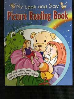 My Look & Say Picture Reading Book