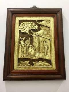Antique Framed Panel