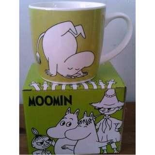 全新 ★Moomin★ 綠白色 EXERCISE 水杯 全新未開包裝