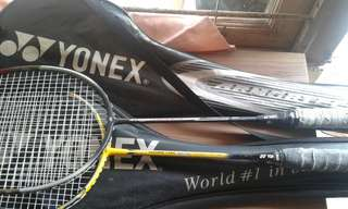 Yonex Ti 10 &Yonex Delta 3
