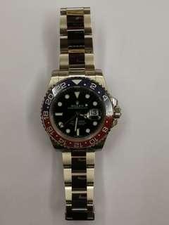 Rolex GMT Master 2 white Gold