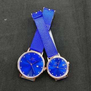 Couple watch DW