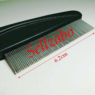 Black Lice Stainless Steel Comb For Check & Remove Head Lice Sellzabo