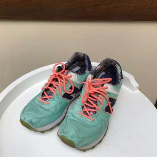 NB New Balance running shoes tosca floral size 39