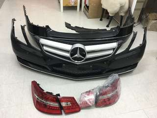 2011 Mercedes-benz E250 coupe W207  bumper & lamps