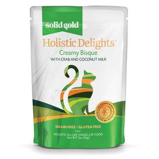 SOLID GOLD HOLISTIC DELIGHT BISQUE - CRAB & COCONUT MILK (Case of 24)
