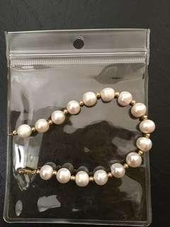 Pearl bracelets!