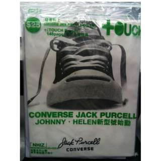 東touch x converse jack Purcell shoe bag 新未用過&未開包裝