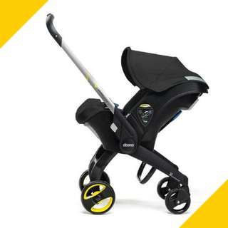 Doona Infant Car Seat Stroller Night Black
